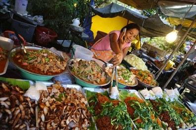 Markt in Ban Bo Phut, Nordküste, Ko Samui, Thailand