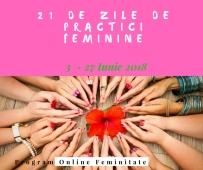 21 de zile de practici Feminine